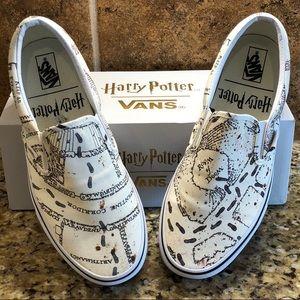 Harry Potter x Vans Marauders' Map Slip Ons